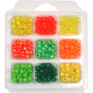 SBX-PY4 Pony Bead Selection Box - citrus