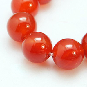 SP-AGRR08 natural red agate beads, grade A,dyed,  round