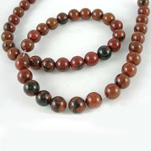 SP-MOB1 - Mahogany Obsidian, Round 