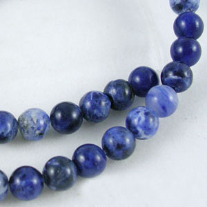 SP-SOR06 Sodalite Beads, Round