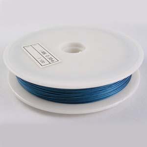 TT2-BL tiger tail - blue - 50m/roll