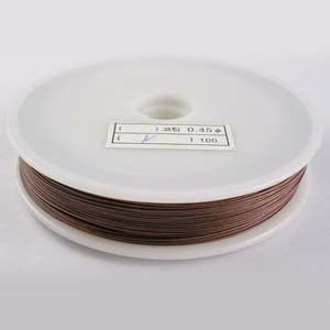 TT2-BRN tiger tail - brown - 50m/roll