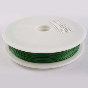 TT2-GRN tiger tail - green - 50m/roll