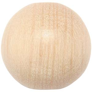 WB1 - round wooden bead