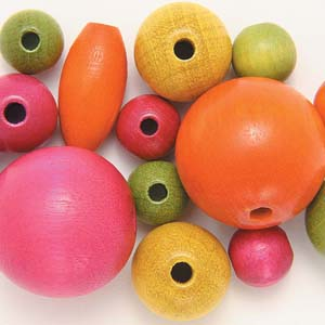 WBM Mixed wooden beads