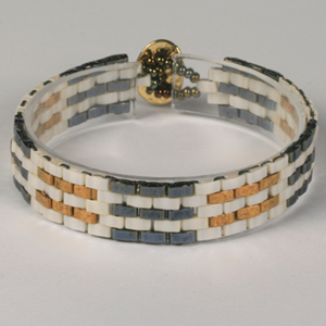WS60-SEP1 NEW Half Tila Woven Bracelet: Monday 1 September 10 30 am - 12 30 pm