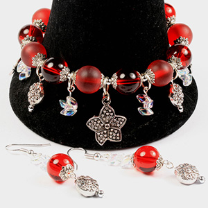 WS01-FEB2 Beginners Workshop - Charm Bracelet & Earrings:  Tuesday 10 February 10 30 am - 12 30 pm
