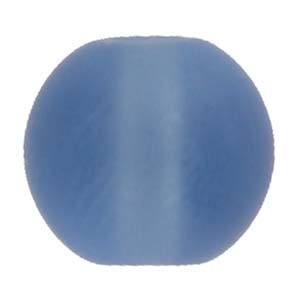 GB242Fround pressed frosted glass beads