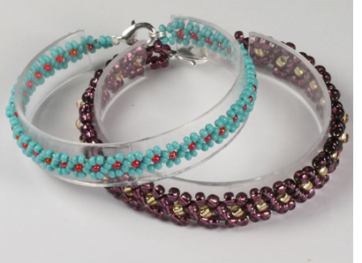 how to make a beaded daisy chain