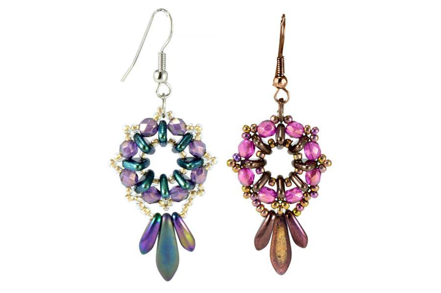 2 Hole Czechmates Tile Beads Beads Bead Supplies