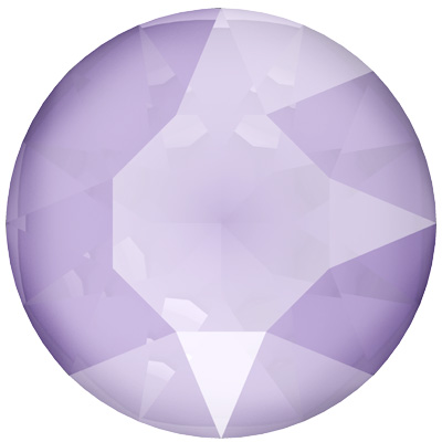 1088 SS39 CEL 001 L126S - Swarovski Sale Xirius Chaton Pointed Back Round Stones - Crystal Lilac