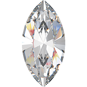 4228 10x5mm 001 - Swarovski XILION navette fancy stone - crystal