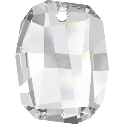 6685 28mm 001 - Swarovski graphic pendant  - crystal