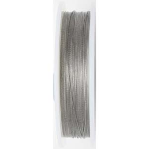 BJW49-0.46 SIL - Beadalon wire: 49 strands - bright