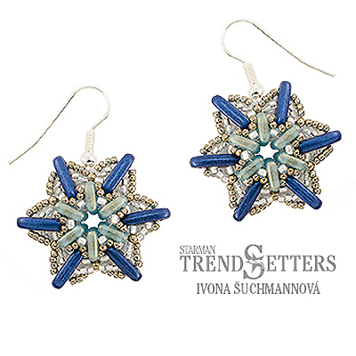 CMP1-FALLING - Falling Star Earrings Pattern