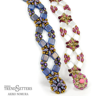 CMP2-FLOWER - Flower Lattice Bracelet Pattern