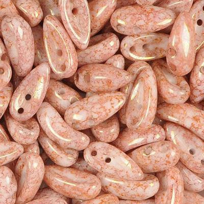 GBCH-303 - Chilli beads - Alabaster Terracotta Red