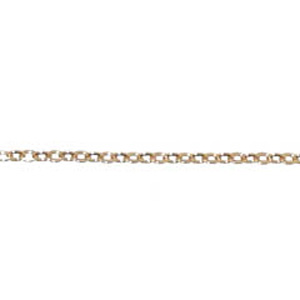 JF46-7 - cable chain necklets - rose gold