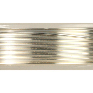 JW-0.6L SIL - Jewellery Wire Large - Silver Plated