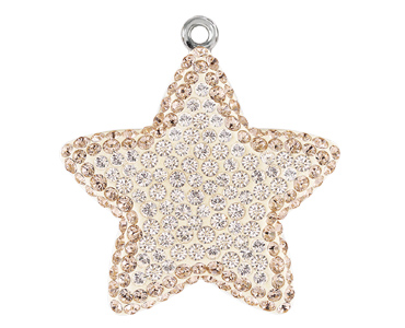 Category 67422 Swarovski Pave Star Pendants