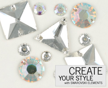 Category Swarovski  Crystal Sew On Stones