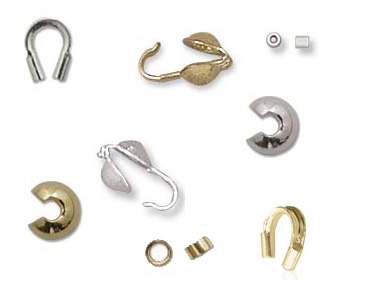 Category Crimp Beads, Calottes etc