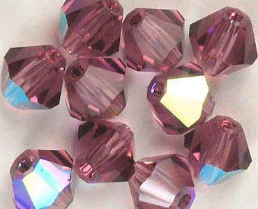 Category 3mm Czech Crystal Bicones
