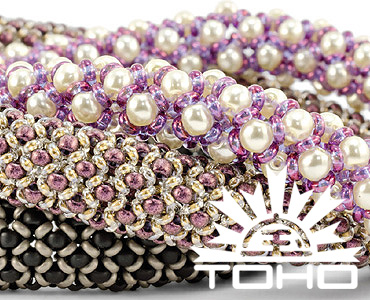 Category Free Toho Patterns with Demi-round Seed Beads