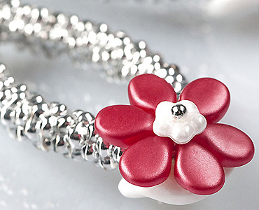 Category Czech Forget-me-not Flower Beads