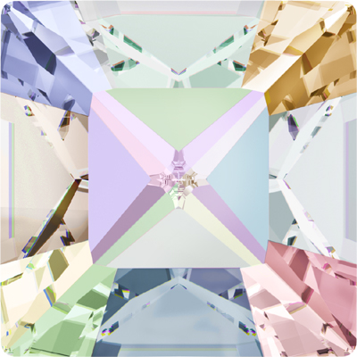 4428 8mm CET - Swarovski  XILION square fancy stones - crystal transparent effects