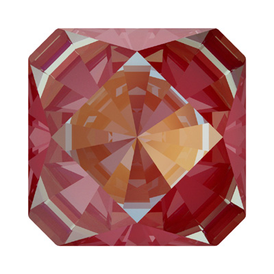 4499 20mm CELD N - Swarovski kaleidoscope square fancy stone - crystal lacquer pro delite effects