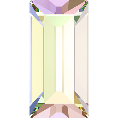 4501 7x3mm CET - Swarovski baguette fancy stone - crystal transparent effects