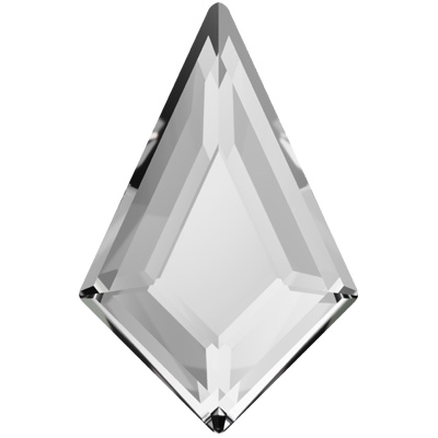 2773 swarovski diamond shape flat back no hotfix beads bead