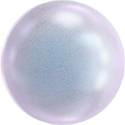 crystal iridescent dreamy blue pearl