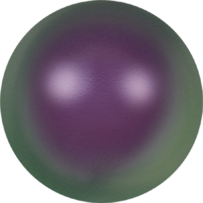crystal iridescent purple pearl