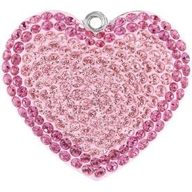 6e615eef8 67412 COLS Pave Heart Pendant Colours - Beads   Bead Supplies ...