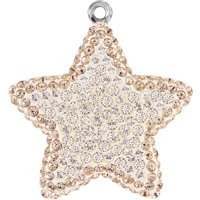 67422 COLS - Pave Star Pendant Colours