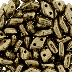 CMDI-400 CzechMates Diamond Beads - bronze