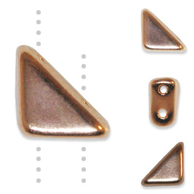 GBTGO-67 Tango beads - copper fully coated