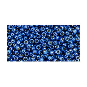SB11JT-PF586 Toho size 11 seed beads - permanent finish galvanized denim blue