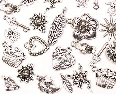 Super Category Metal beads, charms & pendants
