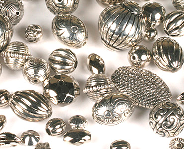 Super Category Metallised Beads & Pendants