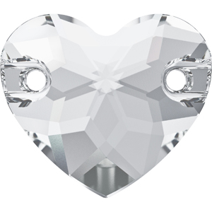 3259 Swarovski Heart Sew-on Stones